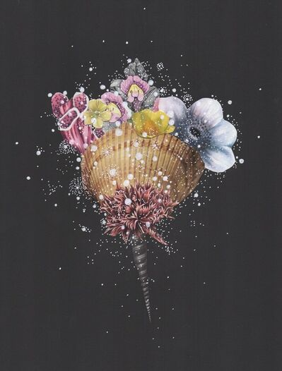 Jenny Brown, 'Mystical Night Scallop ', 2017