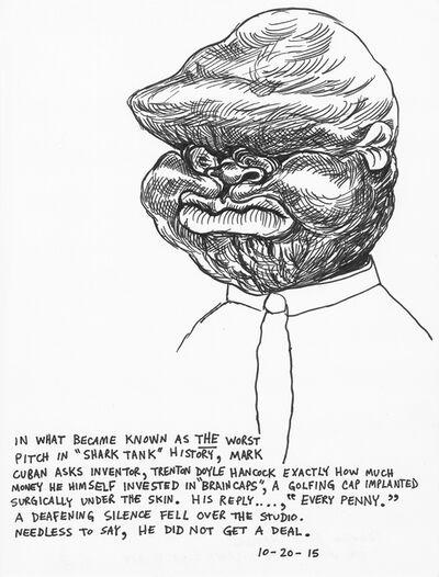 Trenton Doyle Hancock, 'The Worst Pitch in Shark Tank History', 2015