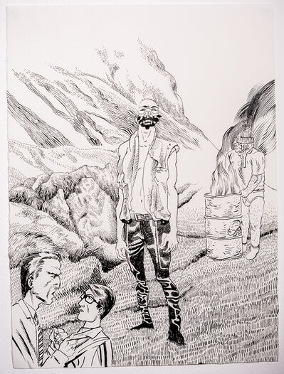Jonathan McBurnie, 'Careful Fear', 2015