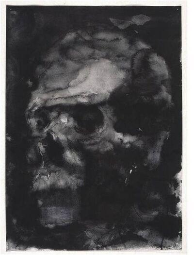 Yan Pei-Ming, 'Autoportrait en Crâne', 2006
