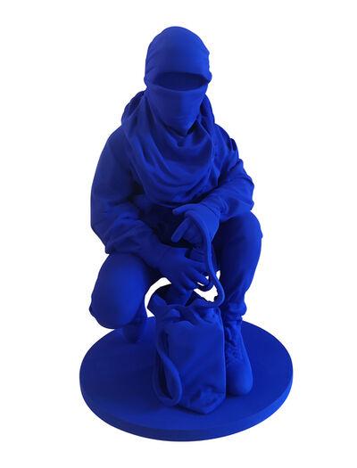 Nuno Viegas, 'Writer I (Klein blue)', 2019