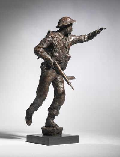 David Williams-Ellis, 'D-Day Soldier III', 2019