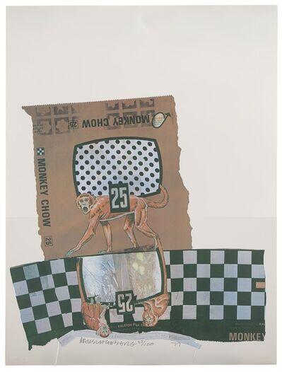 Robert Rauschenberg, 'Monkey Chow (Chow Bags)', 1977