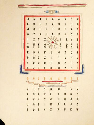 Leandro Katz, 'BBB (Beatrice´s Black Book)', 1983-1985