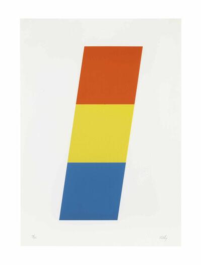Ellsworth Kelly, 'Red-Orange Yellow Blue', 1970