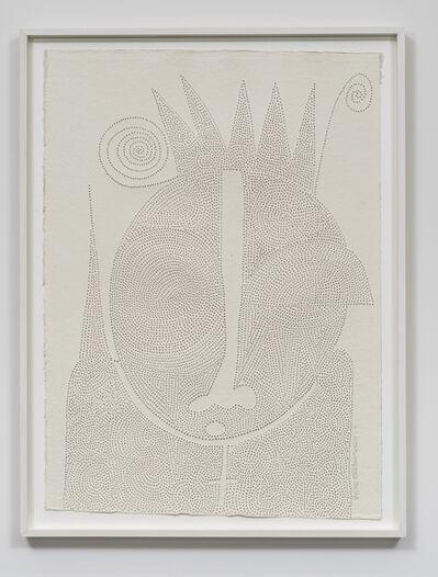Victor Ehikhamenor, 'I am Odibo, I followed my king to the grave', 2017