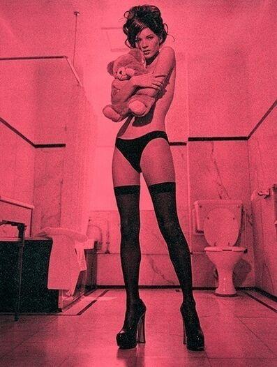 Russell Young, 'Kate Moss Superstar - Sundown pink'