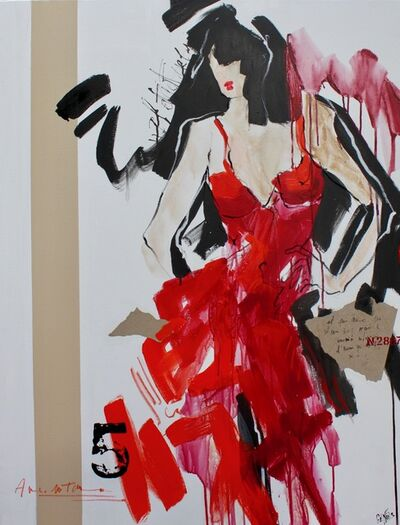 Carole Genies, 'Mademoiselle n°5', 2018