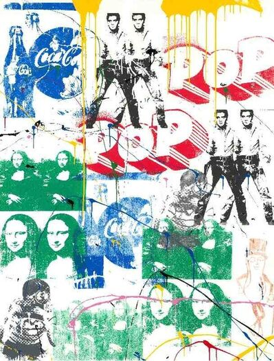 Mr. Brainwash, 'Pop Scene 312', 2018