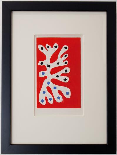 Henri Matisse, 'Algue blance sur fond rouge', 1953