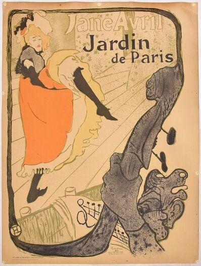 Henri de Toulouse-Lautrec, 'Jardin de Paris – Jane Avril', 20th Century