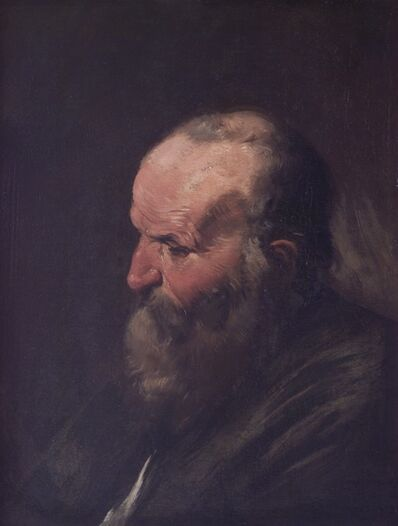 Pier Francesco Mola, ' The Old Man's Head', 17th Century