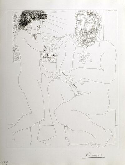 Pablo Picasso, 'Sculpteur et Modele Debout', 1933