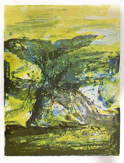 Zao Wou-Ki 趙無極, 'Untitled', 2000