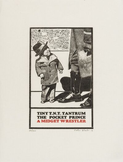 Peter Blake, 'Tiny T.N.T. Tantrum The Pocket Prince', 1973