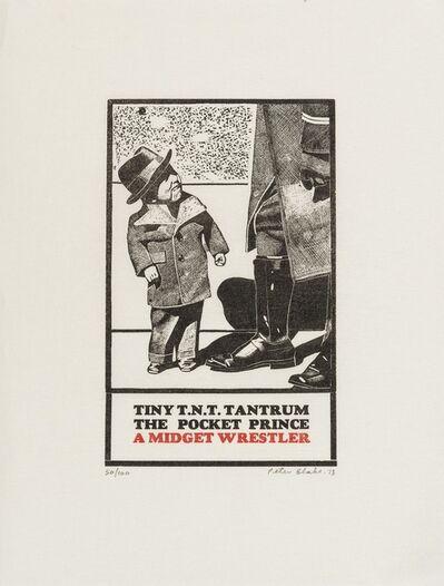 Peter Blake, 'Tiny T.N.T. Tantrum The Pocket Prince', 1973