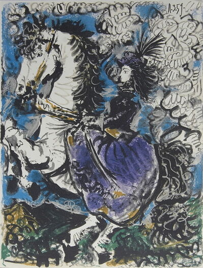 Pablo Picasso, 'Woman on Horseback', 1960