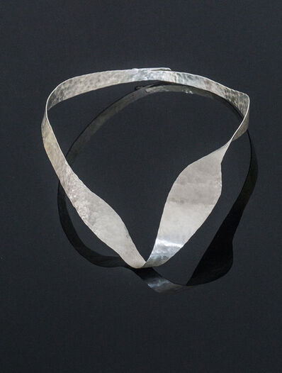 """Jacques Jarrige, 'Hand-hammered Silver Necklace by Jacques Jarrige """"Halo""""', 2017"""