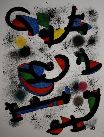 Joan Miró, 'The Musical Seance, from: Allegro Vivace| La séance de musique', 1981