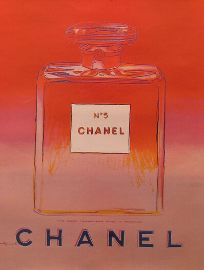 Andy Warhol, 'Chanel No. 5 (Red) Advertising Campaign Poster', 1997