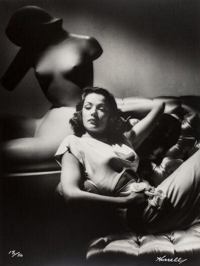 George Hurrell, 'Gene Tierney', 1944