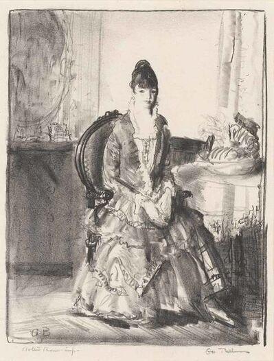 George Wesley Bellows, 'ARRANGEMENT, EMMA IN A ROOM (MASON 112)', 1921
