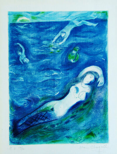 Marc Chagall, 'So I came Forth of the Sea…, from: Four Tales from the Arabian Nights', 1948