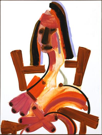 John Millei, 'Woman in Chair (Dark Eyes)', 2009