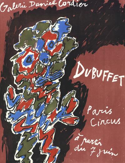 Jean Dubuffet, 'Paris Circus', 1971