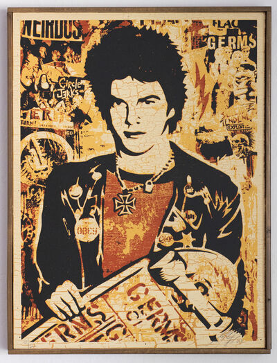 Shepard Fairey (OBEY), 'Darby Crash', 2005