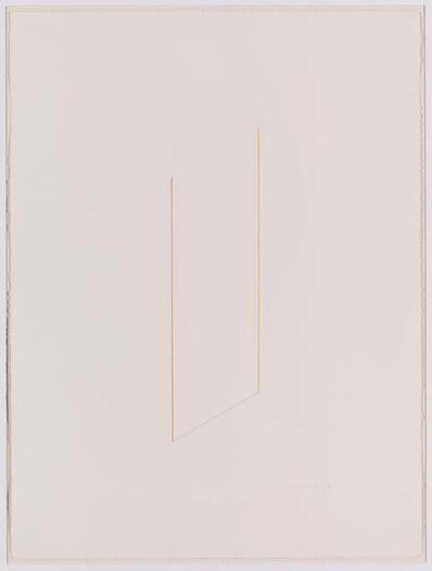 Fred Sandback, 'Untiteld', 1987
