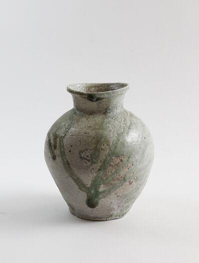 Yui Tsujimura, 'Natural ash glaze pot', 2017