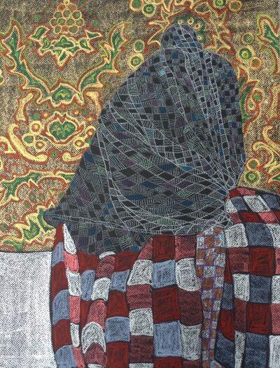 Leikun Nahusenay, 'Yekanfer Wedaj (lips lover) II', 2019
