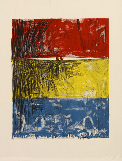 Jasper Johns, 'Painting With Two Balls I', 1962