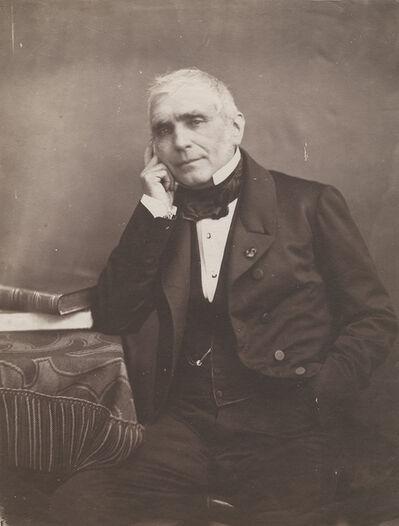 Nadar, 'Portrait of Augustin Eugène Scribe', 1850s