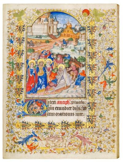 Master of Walters 219, 'Fauquier Books of Hours', 1420-1440