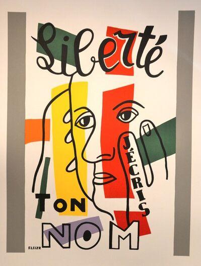 Fernand Léger, 'Liberté, j'écris ton nom', 1950s