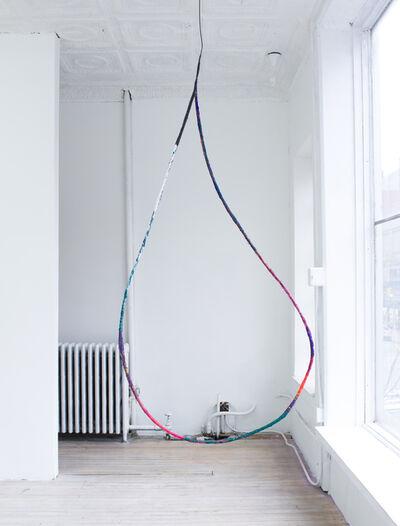 Fabienne Lasserre, 'Larmes 3 (outline)', 2018