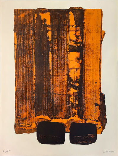 Pierre Soulages, 'Lithographie n° 34', 1974