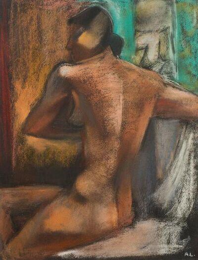 "André Lhote, 'Orignal Pastel ""Woman"" by André Lhote', 1940s"