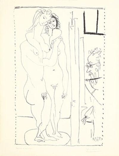 Pablo Picasso, 'Les deux modèles nus', 1954