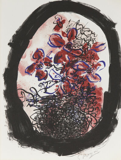 "Georges Braque, 'Frontice Piece for ""Braque Lithographe""', 1961"