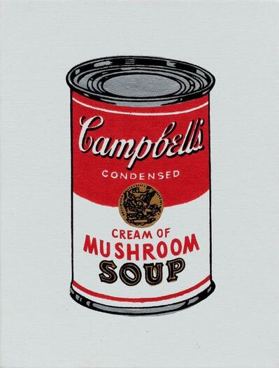 Richard Pettibone, 'Andy Warhol 'Campbell's Soup Can: Cream of Mushroom Soup'', 1987