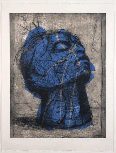 William Kentridge, 'Blue Head', 1993-1998