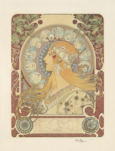 Alphonse Mucha, 'Zodiac', 1896