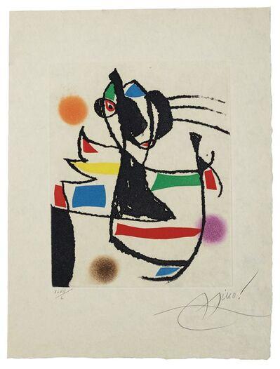 Joan Miró, 'Le Marteau sans maître: one plate (Dupin 954)', 1976
