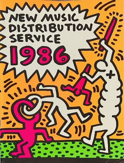 Keith Haring, 'Keith Haring New Music Distribution Service 1986', 1986