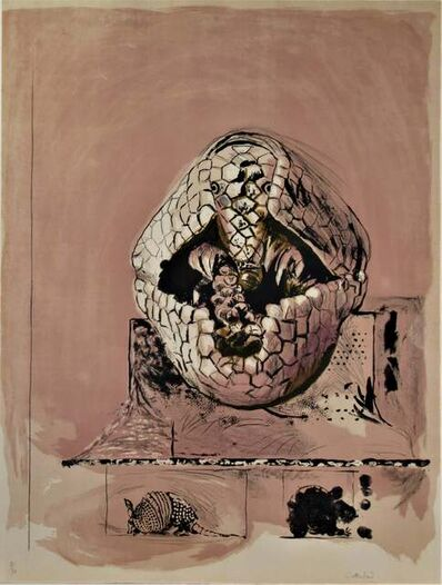 "Graham Vivien Sutherland, '""Armadillo"" from the suite ""Bestiary and some Correspondences"" ', 1967"