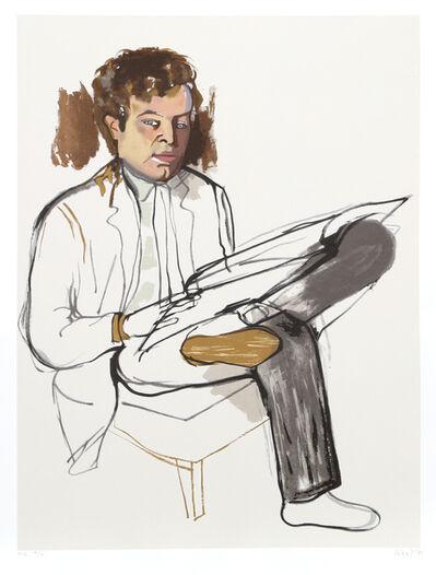 Alice Neel, ' Portrait of Edward Avedesian', 1981