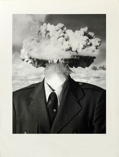 Bruce Conner, 'BOMBHEAD (SMALL FORMAT)', 1989